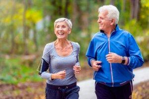 Conservatory At Alden Bridge Residents Enjoying A Run In Woodlands, TX