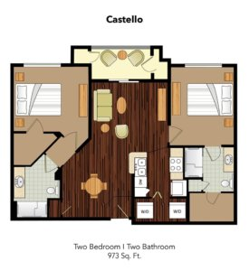 Conservatory At Champion Forest Castello Suite Floor Plan