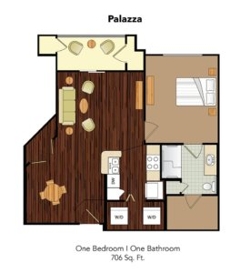 Conservatory At Champion Forest Palazza Suite Floor Plan