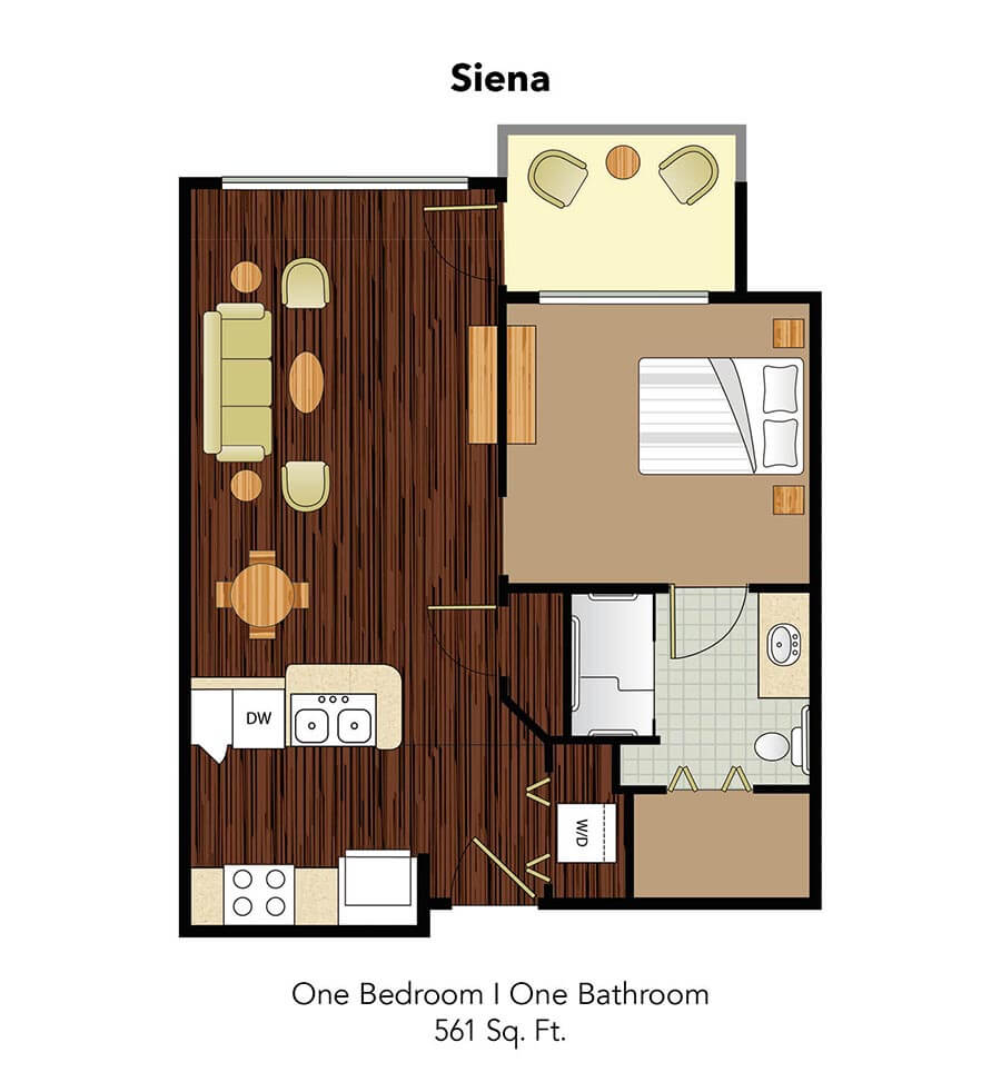 Conservatory At Champion Forest Siena Suite Floor Plan