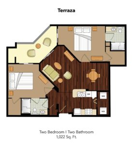 Conservatory At Champion Forest Terraza Suite Floor Plan