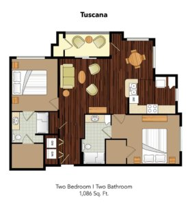 Conservatory At Champion Forest Tuscana Suite Floor Plan