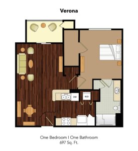 Conservatory At Champion Forest Verona Suite Floor Plan