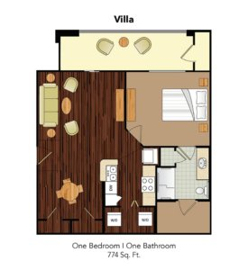 Conservatory At Champion Forest Villa Suite Floor Plan