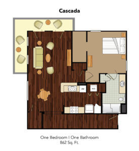 Conservatory At Plano Cascada Suite Floor Plan