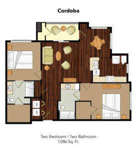 Conservatory At Plano Cordoba Suite Floor Plan