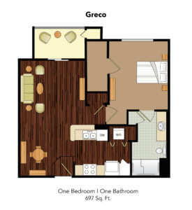 Conservatory At Plano Greco Suite Floor Plan