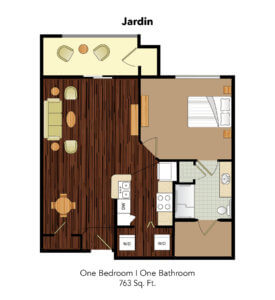 Conservatory At Plano Jardin Suite Floor Plan