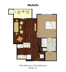 Conservatory At Plano Marbella Suite Floor Plan
