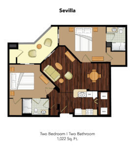 Conservatory At Plano Sevilla Suite Floor Plan