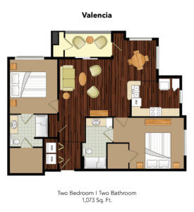Conservatory At Plano Valencia Suite Floor Plan
